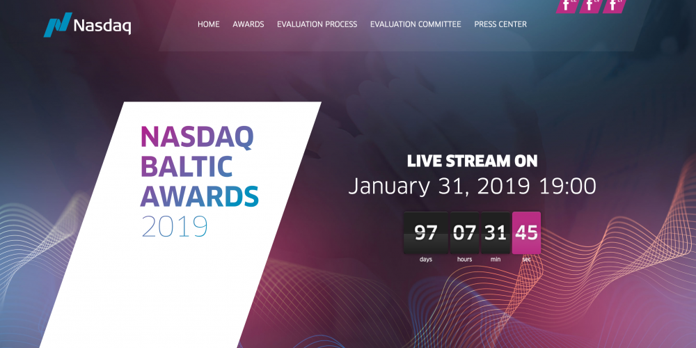 Nasdaq Launches the Nasdaq Baltic Awards and Dedicated